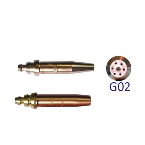 Сопла G02 ацетиленовые для машин CG, CG2, GCD из наличия в Челябинске в большом кличестве