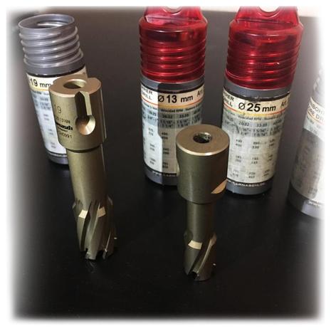 Сверло корончатое 34 мм weldon 19 производства Karnasch диаметр 34 мм  - артикул 20.1316-34